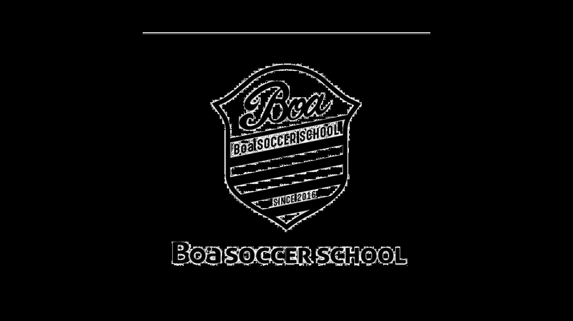 ボアサッカースクールロゴ